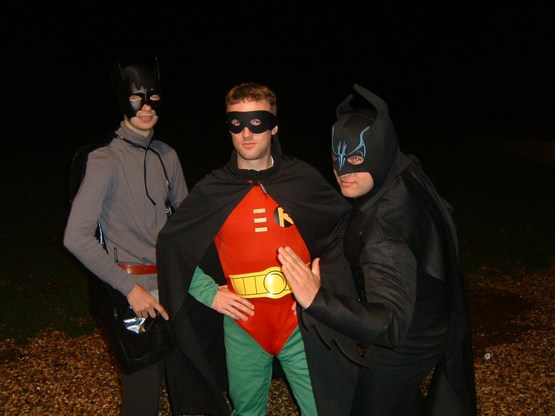 My wonderful superhero friends - who totally didn't give me permission to show this picture on my blog... :)